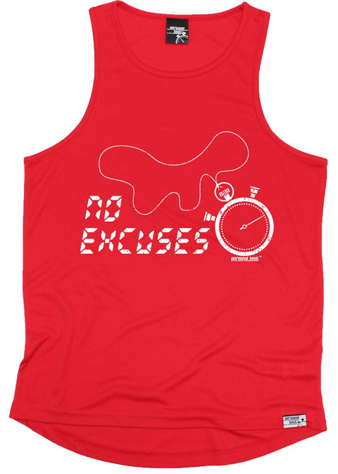 Personal Best No Excuses Running Men's Training Vest