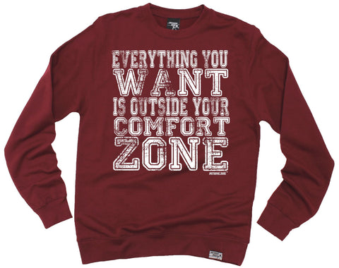 Personal Best Everything You Want Outside Comfort Zone Running Sweatshirt