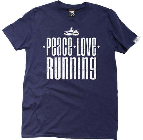 Personal Best Men's Peace Love Running T-Shirt