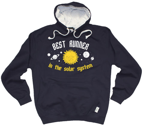 Personal Best Best Runner In The Solar System Running Hoodie