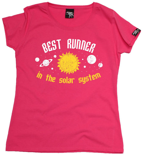 Personal Best Women's Best Runner In The Solar System Running T-Shirt