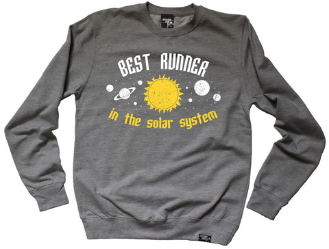 Personal Best Best Runner In The Solar System Running Sweatshirt