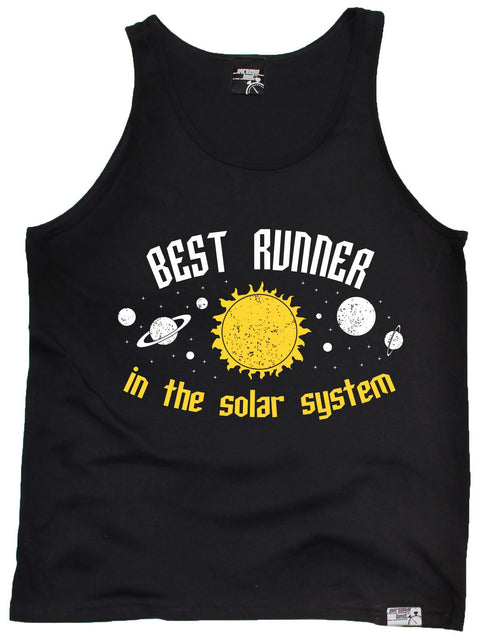 Personal Best Best Runner In The Solar System Running Vest Top