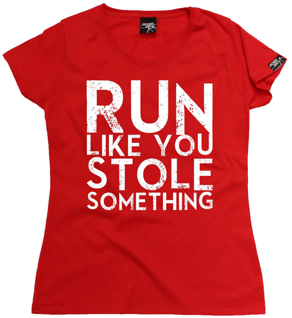 le più votate più recenti retrò ampia scelta di colori Buy Personal Best Women's Run Like You Stole Something Running T-Shirt at  123t T-Shirts & Hoodies for only £15.99