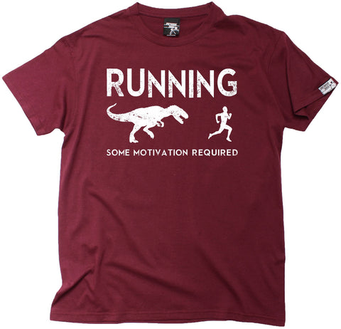 Personal Best Men's Running Some Motivation Required T-Shirt
