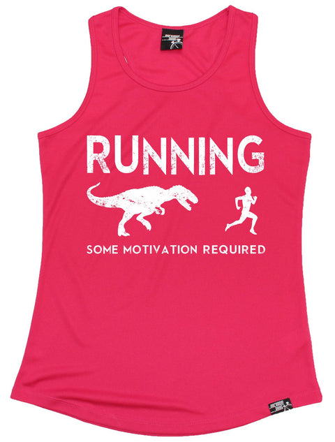 Personal Best Running Some Motivation Required Girlie Training Vest