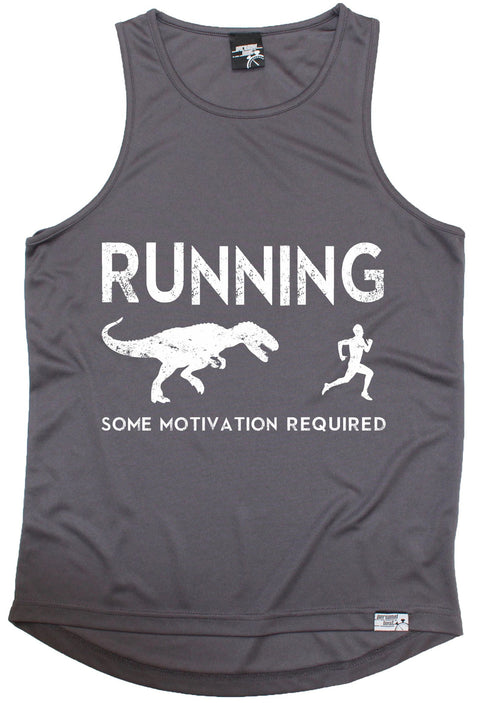 Personal Best Running Some Motivation Required Men's Training Vest