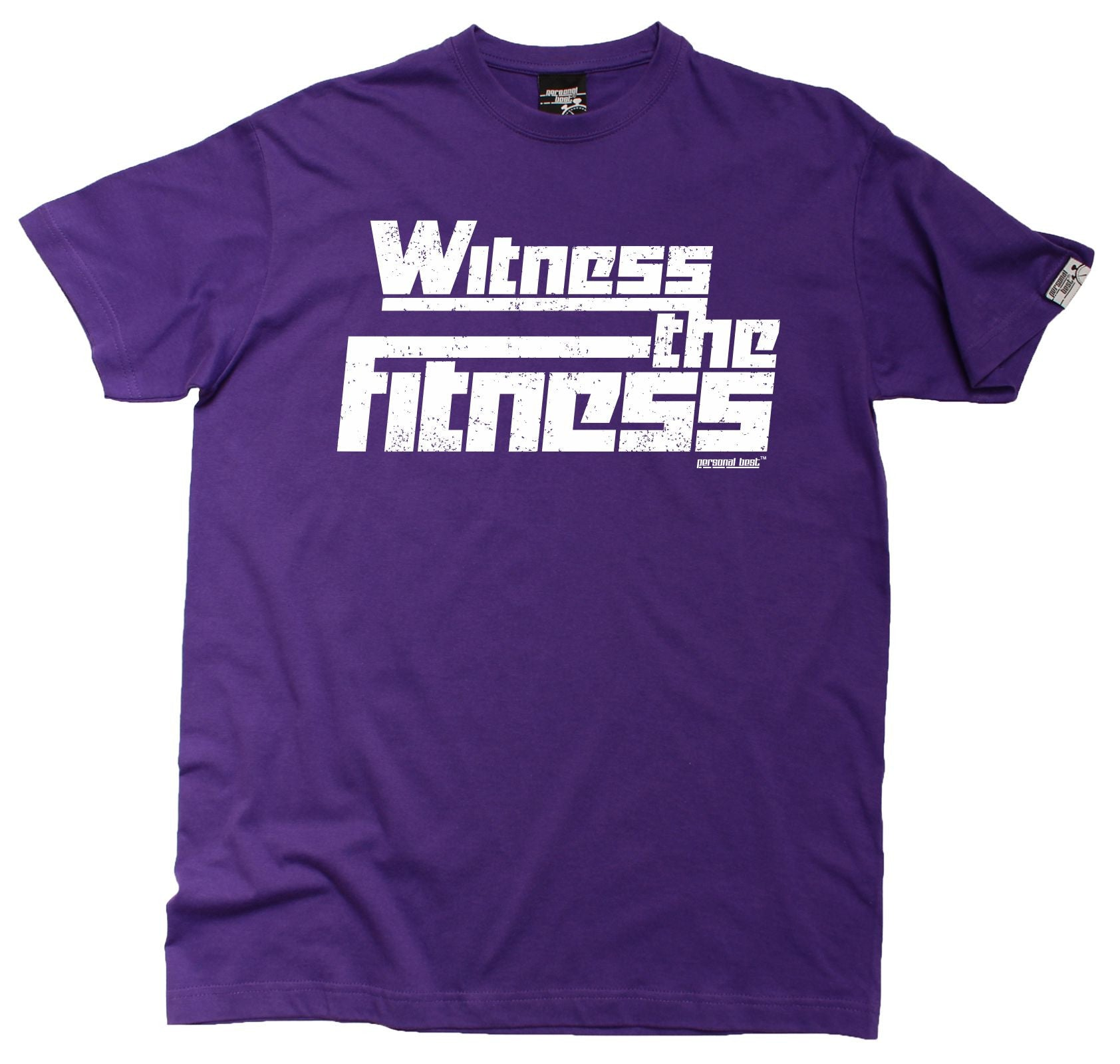 Witness The Fitness MENS T SHIRT Birthday Running