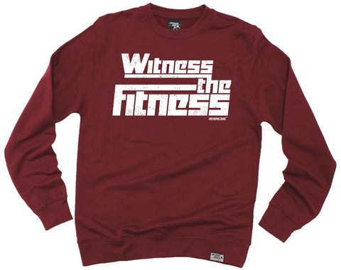 Personal Best Witness The Fitness Running Sweatshirt