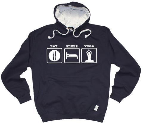 Personal Best Eat Sleep Yoga Training Hoodie
