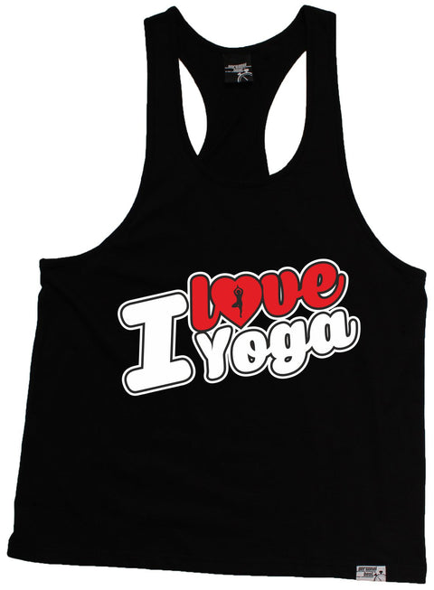 Personal Best I Love Yoga Running Men's Tank Top