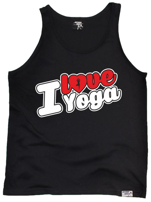Personal Best I Love Yoga Running Training Vest Top