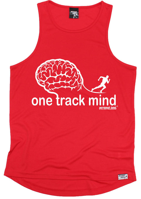 Personal Best One Track Mind Running Men's Training Vest