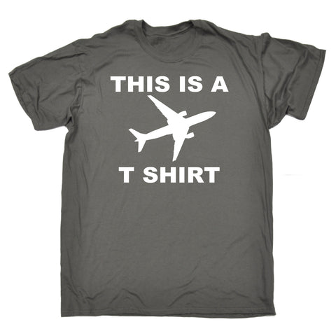 123t Men's This Is A Plane T shirt Funny T-Shirt