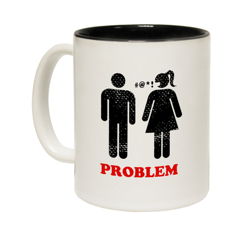 Out Of Bounds Problem Solved ... Golf Funny Mug