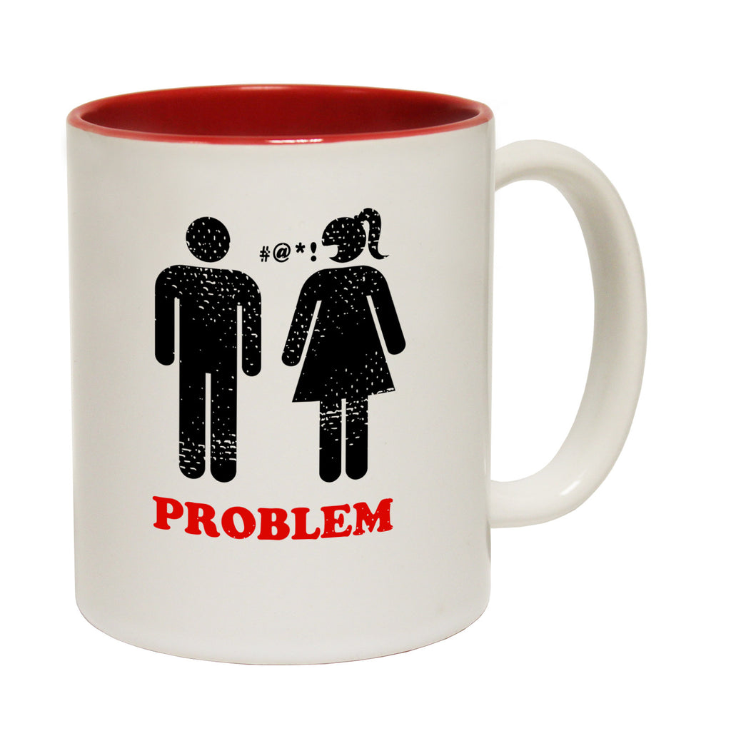 Powder Monkeez Problem Solved ... Ski Skiing Funny Mug