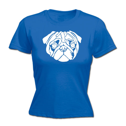 123t Women's Pug Dog Design Funny T-Shirt