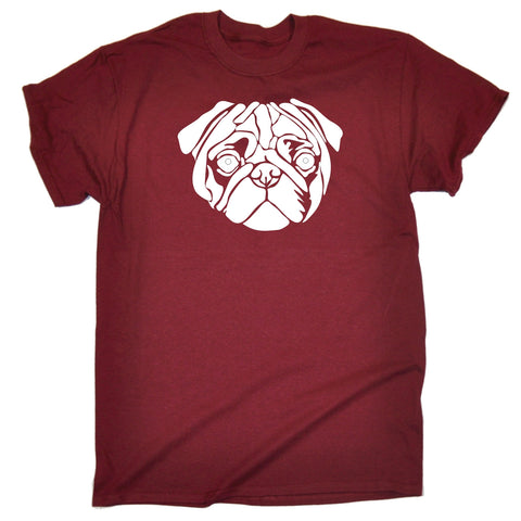 123t Men's Pug Dog Design Funny T-Shirt