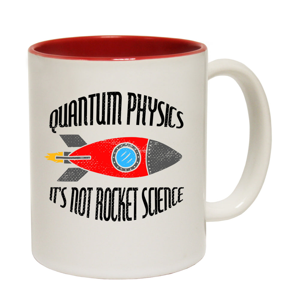 123t Quantum Physics It's Not Rocket Science Funny Mug