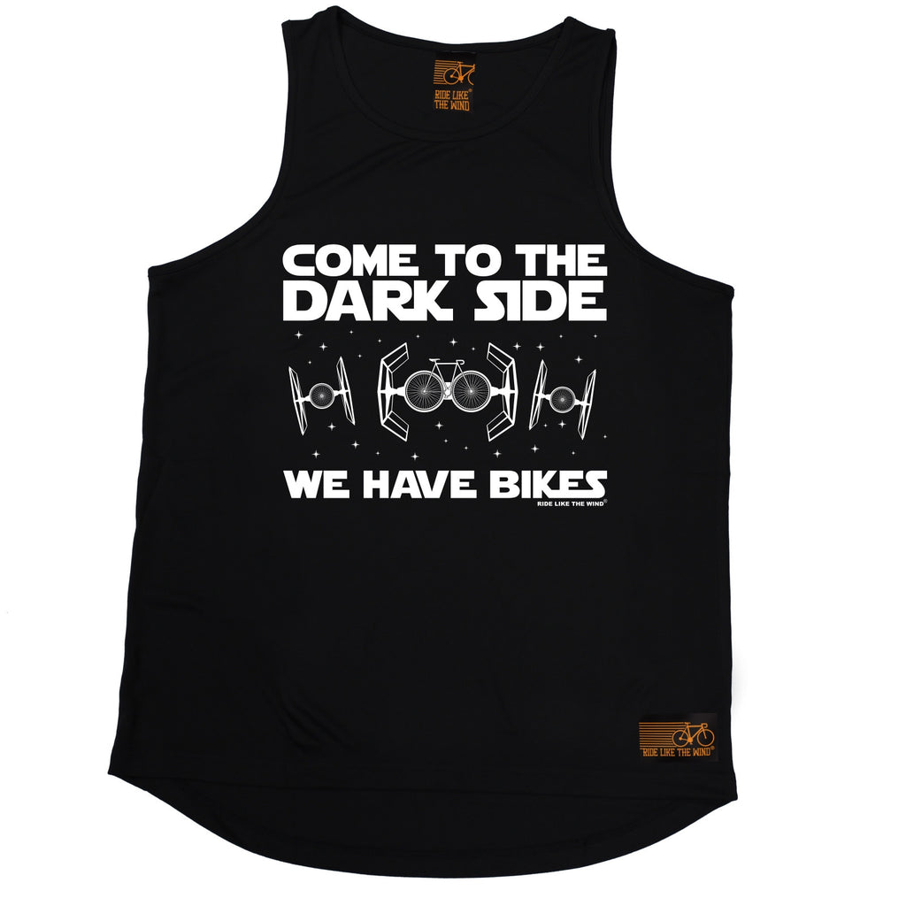 Ride Like The Wind Come To The Dark Side We Have Bikes Cycling Men's Training Vest