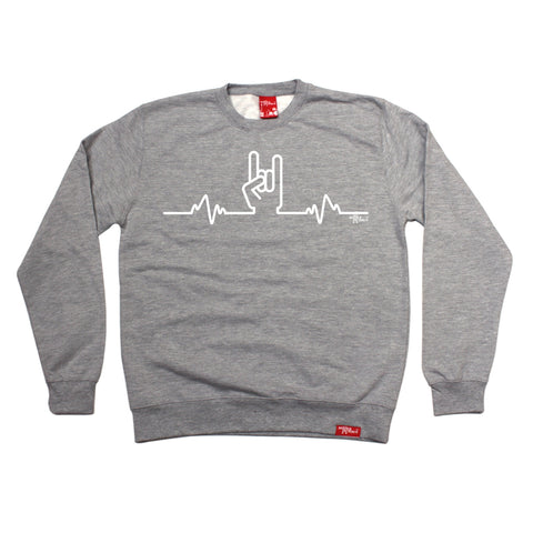 Banned Member Rock Pulse Music Sweatshirt