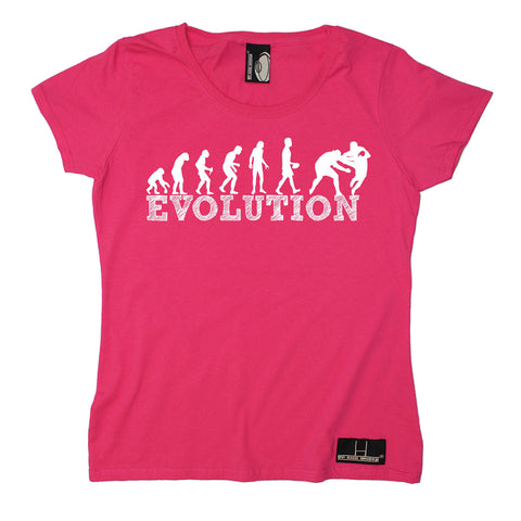 Up And Under Women's Evolution Rugby T-Shirt