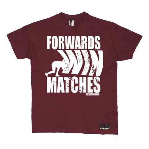 Up And Under Men's Forwards Wins Matches Rugby T-Shirt