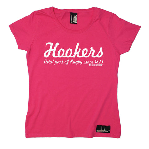 Up And Under Women's Hookers Part of Rugby Since 1823 T-Shirt