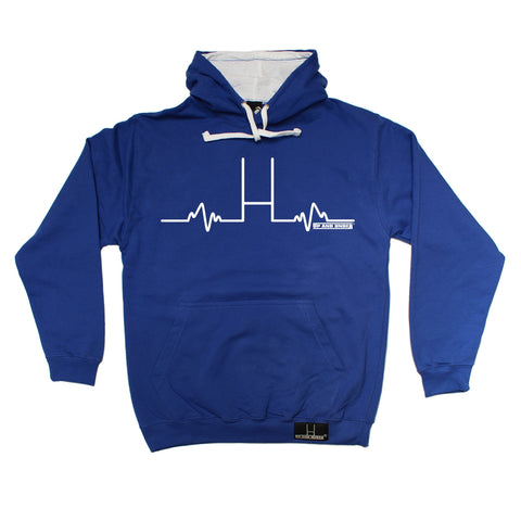 Up And Under Rugby Goal Posts Pulse Hoodie