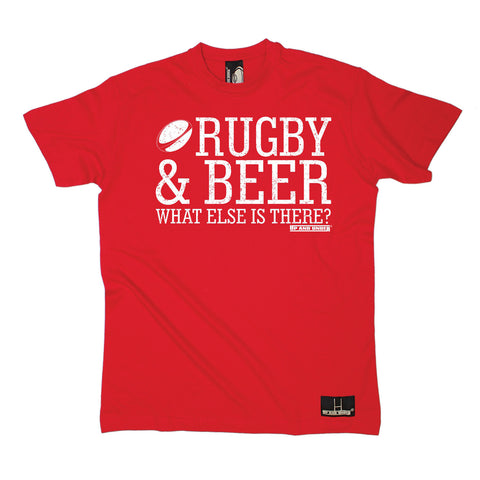 Up And Under Men's Rugby & Beer What Else Is There T-Shirt