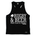 Up And Under Rugby & Beer What Else Is There Men's Tank Top