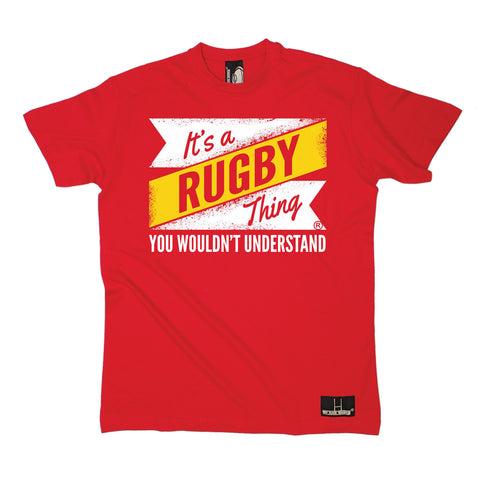 Up And Under Men's It's A Rugby Thing You Wouldn't Understand T-Shirt