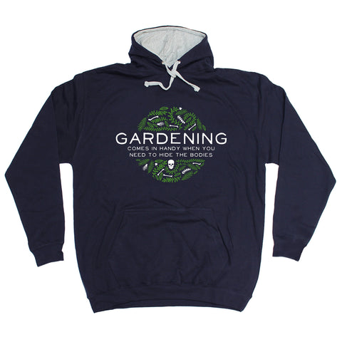 123t USA Gardening ... Hide The Bodies Funny Hoodie