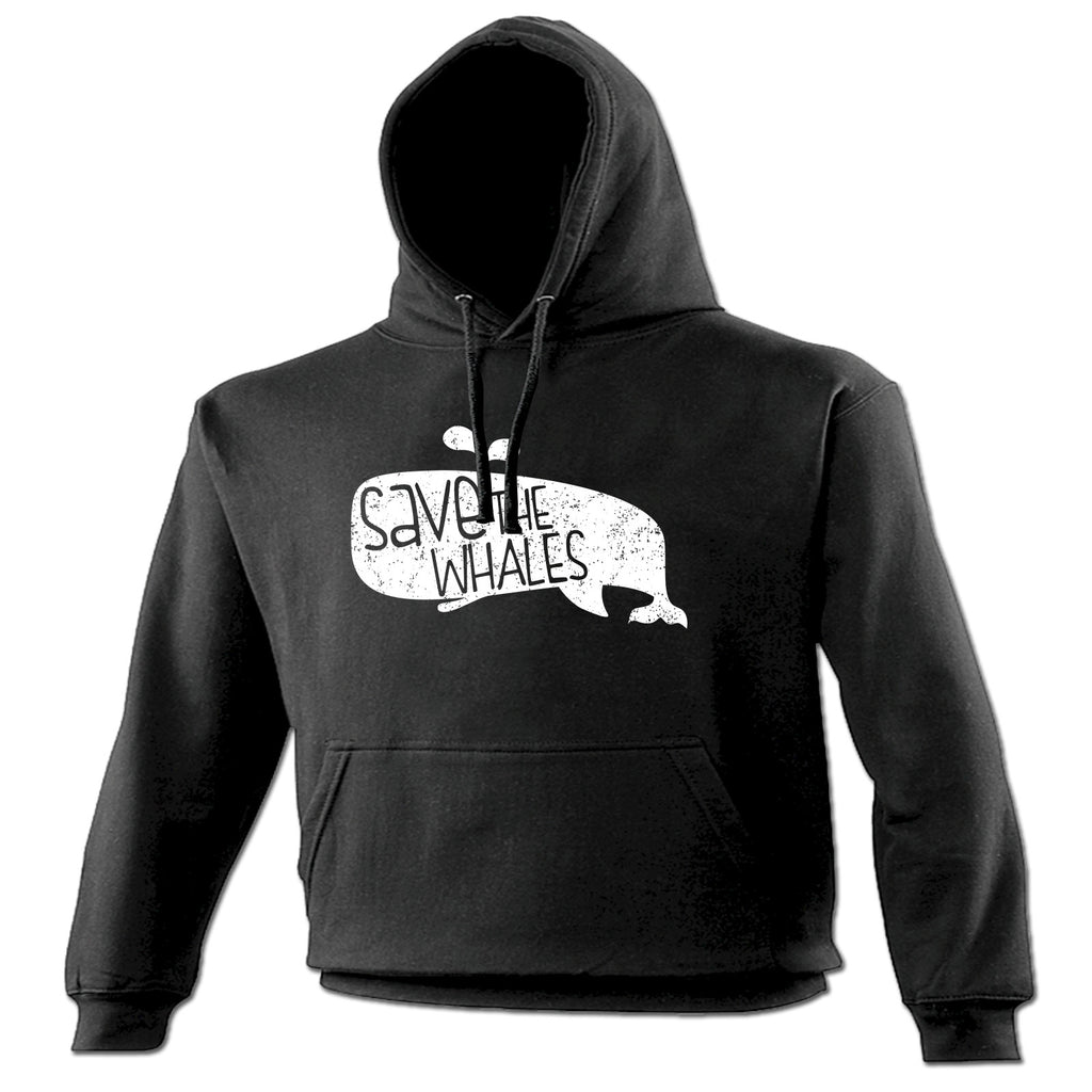 123t Save The Whales Funny Hoodie