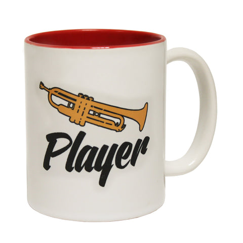 123t Trumpet Player Funny Mug