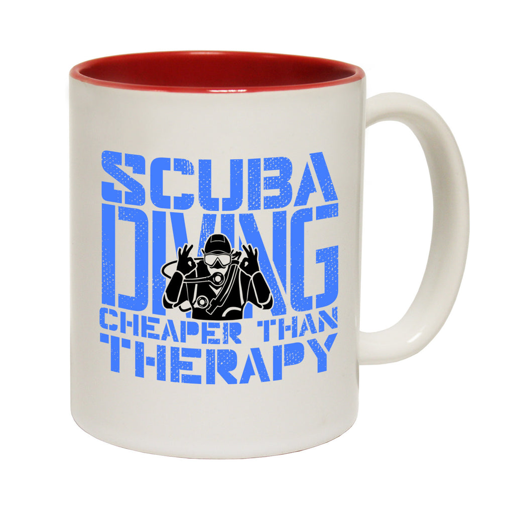 Open Water Scuba Diving ... Therapy Funny Mug