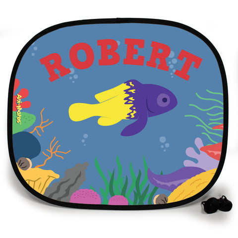 Ani-Mates Under The Sea Fairy Basslet Personalised UV Protection Car Sunshade