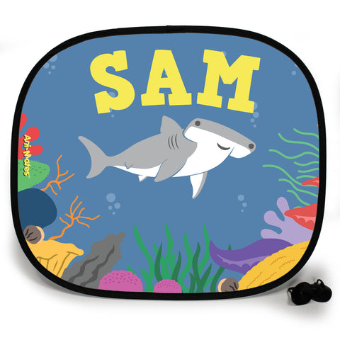 Ani-Mates Under The Sea Hammerhead Personalised UV Protection Fun Vehicle Interior Window Car Sunshade