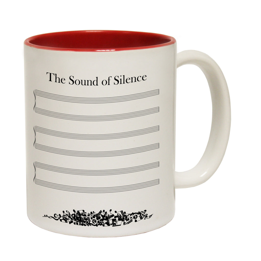 123t The Sound Of Silence Funny Mug