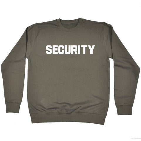 Security ... Breast & Back - SWEATSHIRT - 123t funny slogan gifts