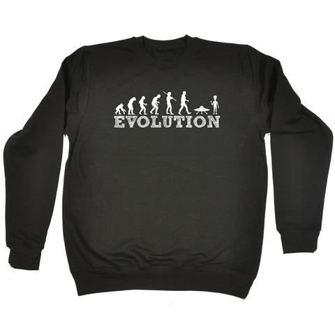 123t Alien Evolution - SWEATSHIRT - 123t clothing gifts presents