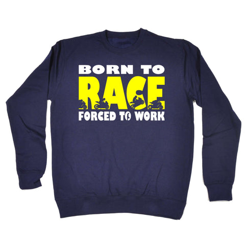 123t - Born To Race -  SWEATSHIRT