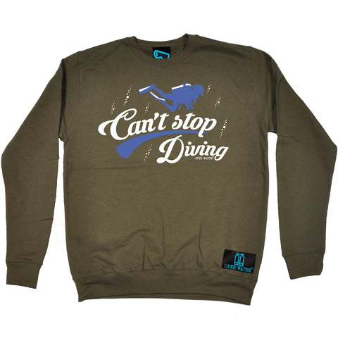 Open Water - Cant Stop Diving - Sailing SWEATSHIRT
