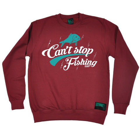 Drowning Worms Can't Stop Fishing Sweatshirt