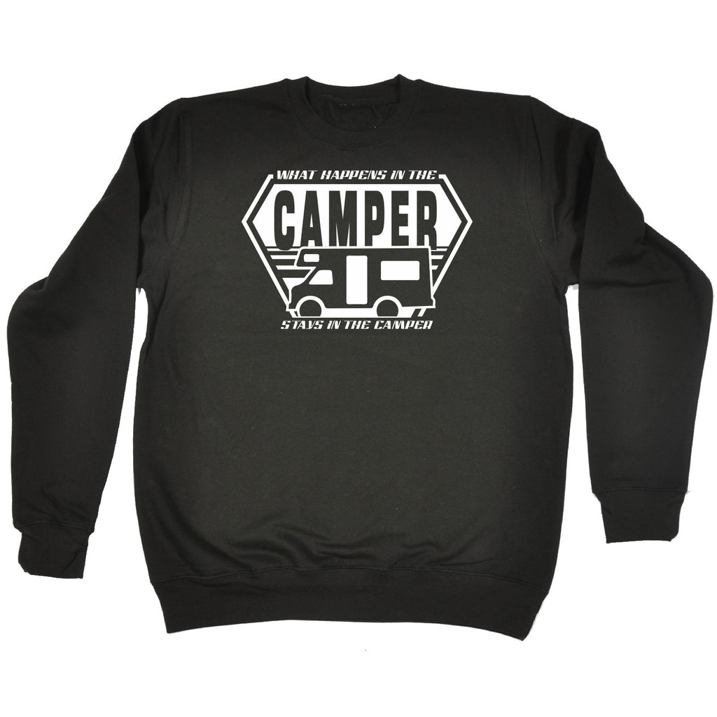 123t What Happens In The Camper - SWEATSHIRT