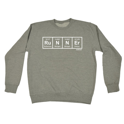 Personal Best Runner Periodic Design Running Sweatshirt