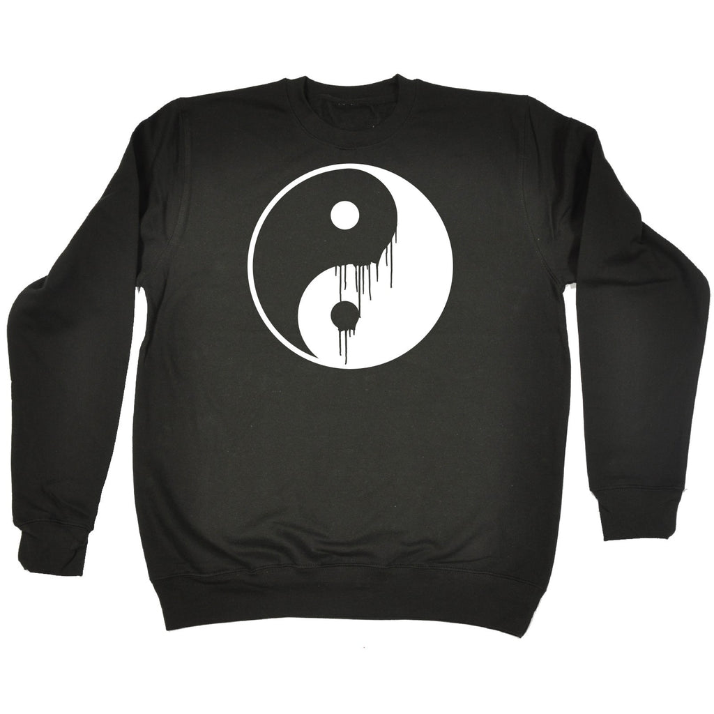 123t Ying Yang Dripping - SWEATSHIRT
