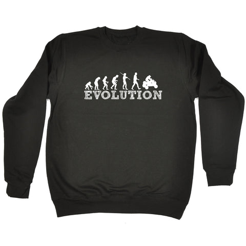 123t Evolution Quadbike Funny Sweatshirt