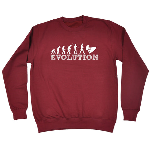 123t Evolution Jet Ski Funny Sweatshirt