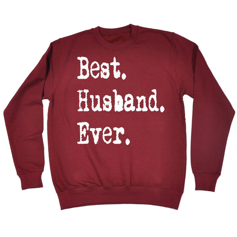 123t Best Husband Ever Funny Sweatshirt - 123t clothing gifts presents